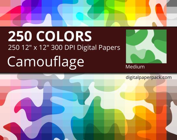 Medium camouflage pattern.