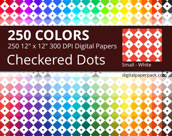 Small size checker dot pattern.