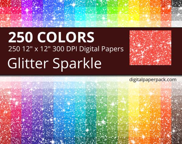Glitter sparkle digital paper