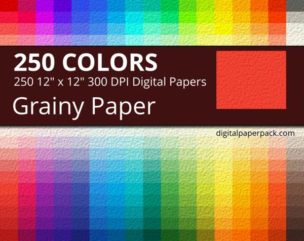 Grainy digital paper