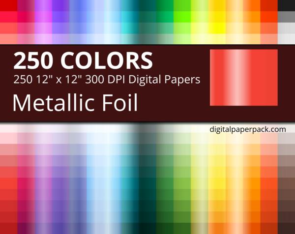 Metallic foil texture.